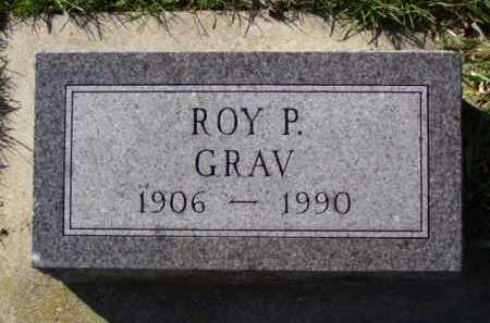 GRAV, ROY P. - Minnehaha County, South Dakota | ROY P. GRAV - South Dakota Gravestone Photos
