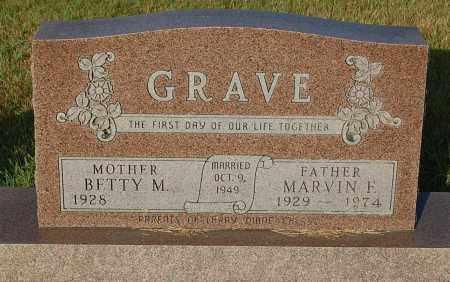 GRAVE, BETTY M. - Minnehaha County, South Dakota | BETTY M. GRAVE - South Dakota Gravestone Photos