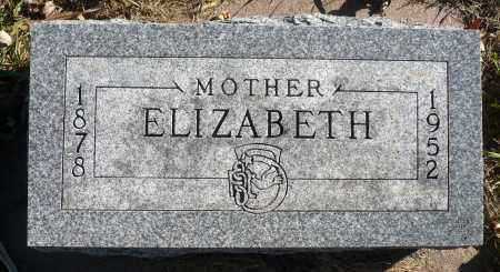 GRAVES, ELIZABETH - Minnehaha County, South Dakota   ELIZABETH GRAVES - South Dakota Gravestone Photos