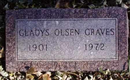 GRAVES, GLADYS - Minnehaha County, South Dakota   GLADYS GRAVES - South Dakota Gravestone Photos