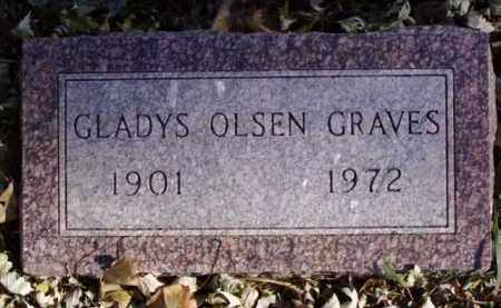 OLSEN GRAVES, GLADYS - Minnehaha County, South Dakota | GLADYS OLSEN GRAVES - South Dakota Gravestone Photos