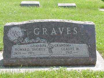 GRAVES, HOWARD - Minnehaha County, South Dakota | HOWARD GRAVES - South Dakota Gravestone Photos