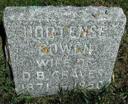 GRAVES, HORTENSE - Minnehaha County, South Dakota   HORTENSE GRAVES - South Dakota Gravestone Photos
