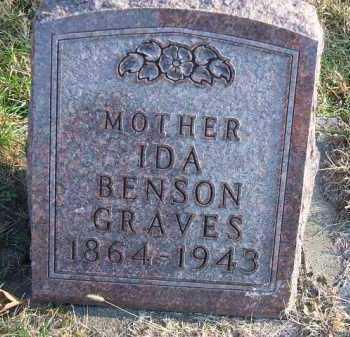 GRAVES, IDA - Minnehaha County, South Dakota   IDA GRAVES - South Dakota Gravestone Photos