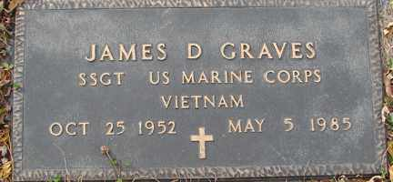 GRAVES, JAMES D. - Minnehaha County, South Dakota | JAMES D. GRAVES - South Dakota Gravestone Photos