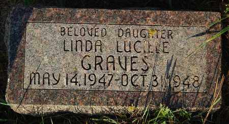GRAVES, LINDA LUCILLE - Minnehaha County, South Dakota | LINDA LUCILLE GRAVES - South Dakota Gravestone Photos