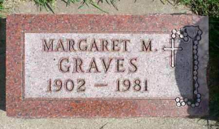 GRAVES, MARGARET M. - Minnehaha County, South Dakota | MARGARET M. GRAVES - South Dakota Gravestone Photos