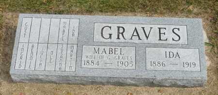 GRAVES, IDA - Minnehaha County, South Dakota | IDA GRAVES - South Dakota Gravestone Photos