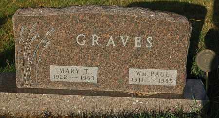 GRAVES, MARY T. - Minnehaha County, South Dakota | MARY T. GRAVES - South Dakota Gravestone Photos