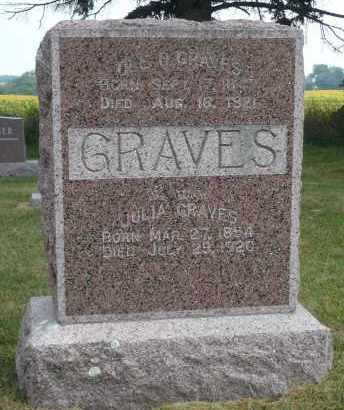 GRAVES, JULIA - Minnehaha County, South Dakota | JULIA GRAVES - South Dakota Gravestone Photos