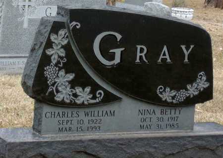 GRAY, NINA BETTY - Minnehaha County, South Dakota   NINA BETTY GRAY - South Dakota Gravestone Photos