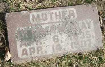 AMSDEN GRAY, DEMMA MARIA - Minnehaha County, South Dakota | DEMMA MARIA AMSDEN GRAY - South Dakota Gravestone Photos