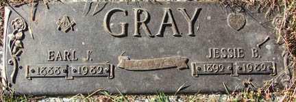 GRAY, JESSIE B. - Minnehaha County, South Dakota | JESSIE B. GRAY - South Dakota Gravestone Photos