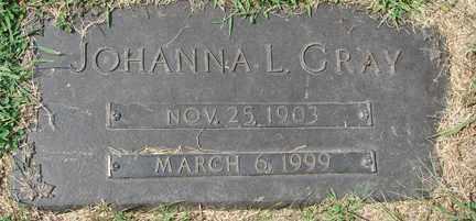 GRAY, JOHANNA L. - Minnehaha County, South Dakota | JOHANNA L. GRAY - South Dakota Gravestone Photos