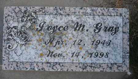 GRAY, JOYCE M. - Minnehaha County, South Dakota | JOYCE M. GRAY - South Dakota Gravestone Photos