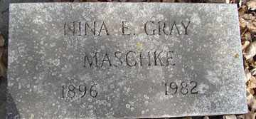 GRAY, NINA E. - Minnehaha County, South Dakota | NINA E. GRAY - South Dakota Gravestone Photos