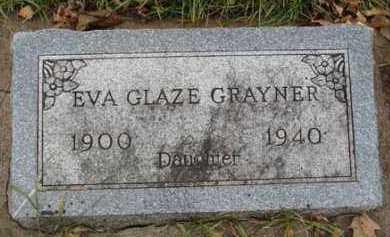GRAYNER, EVA GLAZE - Minnehaha County, South Dakota   EVA GLAZE GRAYNER - South Dakota Gravestone Photos