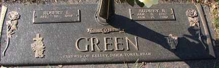 CHRISTENSEN GREEN, AUDREY B. - Minnehaha County, South Dakota | AUDREY B. CHRISTENSEN GREEN - South Dakota Gravestone Photos
