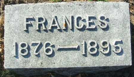 GREEN, FRANCES - Minnehaha County, South Dakota   FRANCES GREEN - South Dakota Gravestone Photos