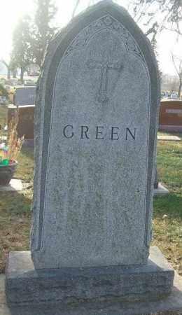 GREEN, FAMILY STONE - Minnehaha County, South Dakota   FAMILY STONE GREEN - South Dakota Gravestone Photos
