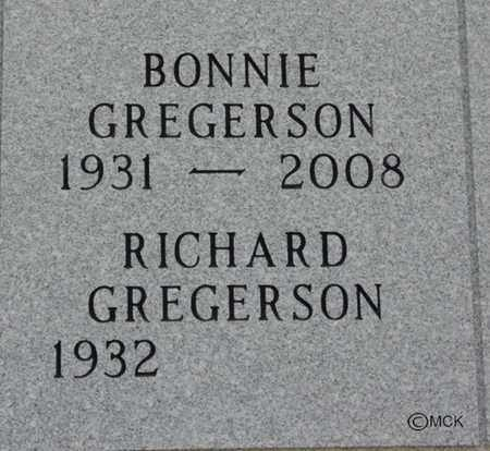 GREGERSON, RICHARD - Minnehaha County, South Dakota | RICHARD GREGERSON - South Dakota Gravestone Photos