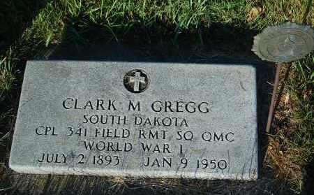 GREGG, CLARK M. - Minnehaha County, South Dakota | CLARK M. GREGG - South Dakota Gravestone Photos