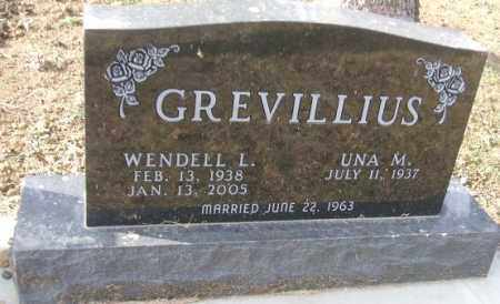 GREVILLIUS, WENDELL L. - Minnehaha County, South Dakota | WENDELL L. GREVILLIUS - South Dakota Gravestone Photos
