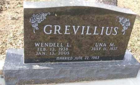 GREVILLIUS, UNA M. - Minnehaha County, South Dakota | UNA M. GREVILLIUS - South Dakota Gravestone Photos