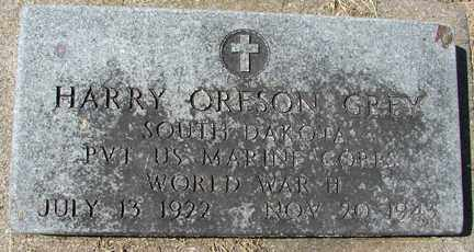 GREY, HARRY ORESON (WWII) - Minnehaha County, South Dakota | HARRY ORESON (WWII) GREY - South Dakota Gravestone Photos