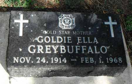 GREYBUFFALO, GOLDIE ELLA - Minnehaha County, South Dakota | GOLDIE ELLA GREYBUFFALO - South Dakota Gravestone Photos