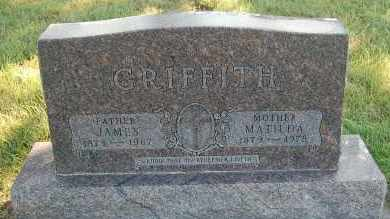 GRIFFITH, JAMES - Minnehaha County, South Dakota | JAMES GRIFFITH - South Dakota Gravestone Photos