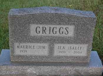 "GRIGGS, MAURICE ""JIM"" - Minnehaha County, South Dakota | MAURICE ""JIM"" GRIGGS - South Dakota Gravestone Photos"