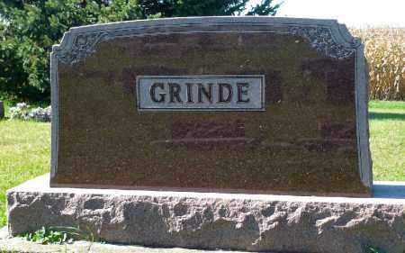 GRINDE, FAMILY MARKER - Minnehaha County, South Dakota | FAMILY MARKER GRINDE - South Dakota Gravestone Photos