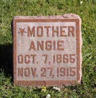 GRISWOLD, ANGIE - Minnehaha County, South Dakota | ANGIE GRISWOLD - South Dakota Gravestone Photos