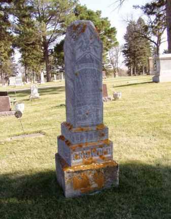 GRISWOLD, MILO W. - Minnehaha County, South Dakota | MILO W. GRISWOLD - South Dakota Gravestone Photos