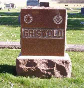 GRIWOLD, FAMILY MARKER - Minnehaha County, South Dakota | FAMILY MARKER GRIWOLD - South Dakota Gravestone Photos