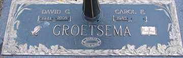 GROETSEMA, CAROL E. - Minnehaha County, South Dakota   CAROL E. GROETSEMA - South Dakota Gravestone Photos