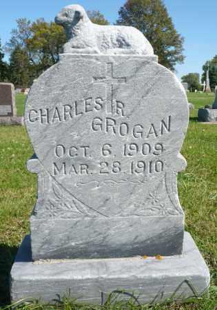 GROGAN, CHARLES R. - Minnehaha County, South Dakota   CHARLES R. GROGAN - South Dakota Gravestone Photos