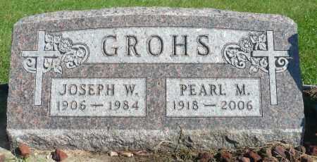 GROHS, PEARL M. - Minnehaha County, South Dakota | PEARL M. GROHS - South Dakota Gravestone Photos