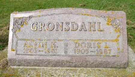 GRONSDAHL, ALVIN H. - Minnehaha County, South Dakota | ALVIN H. GRONSDAHL - South Dakota Gravestone Photos