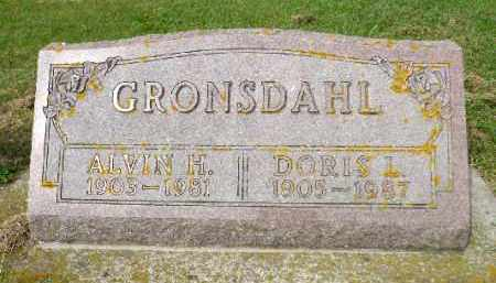 GRONSDAHL, DORIS L. - Minnehaha County, South Dakota | DORIS L. GRONSDAHL - South Dakota Gravestone Photos