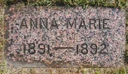 GRONSDAHL, ANNA MARIE - Minnehaha County, South Dakota | ANNA MARIE GRONSDAHL - South Dakota Gravestone Photos