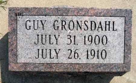 GRONSDAHL, GUY - Minnehaha County, South Dakota | GUY GRONSDAHL - South Dakota Gravestone Photos