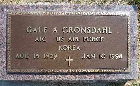 GRONSDAHL, GALE A. (KOREA) - Minnehaha County, South Dakota | GALE A. (KOREA) GRONSDAHL - South Dakota Gravestone Photos