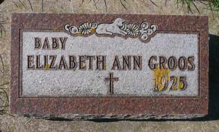 GROOS, ELIZABETH ANN - Minnehaha County, South Dakota | ELIZABETH ANN GROOS - South Dakota Gravestone Photos