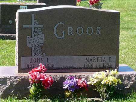 GROOS, MARTHA E. - Minnehaha County, South Dakota | MARTHA E. GROOS - South Dakota Gravestone Photos