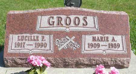 GROOS, LUCILLE F. - Minnehaha County, South Dakota | LUCILLE F. GROOS - South Dakota Gravestone Photos