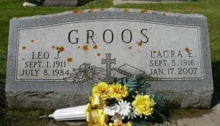 GROOS, LAURA E. - Minnehaha County, South Dakota | LAURA E. GROOS - South Dakota Gravestone Photos