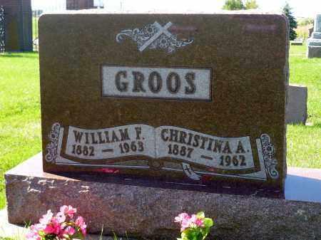 GROOS, CHRISTINA A. - Minnehaha County, South Dakota | CHRISTINA A. GROOS - South Dakota Gravestone Photos