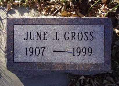 GROSS, JUNE J. - Minnehaha County, South Dakota | JUNE J. GROSS - South Dakota Gravestone Photos